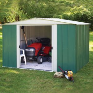Metal Apex 10x8 shed