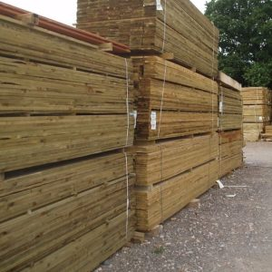 UK grown timber