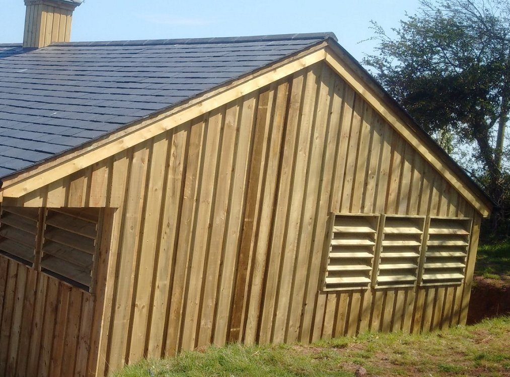 36mm Tanalised Timber Carcassing Sawn Devon Next Day