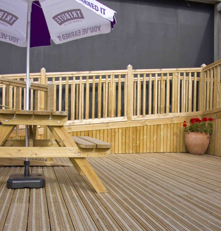 Liberon decking oil aquastop tough deck finish l with for Cheap decking boards uk