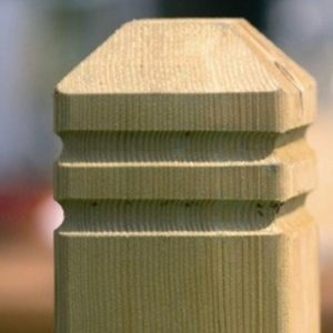 Chamfered and Beaded Newel 1.25 metres