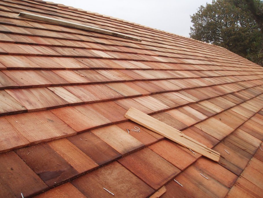 Cedar Shingles Western Red Grade 1 Perfection Blue