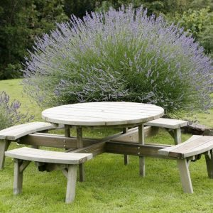 Large HD Circular Picnic Table
