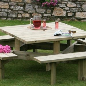 Dartmoor Square Picnic Table