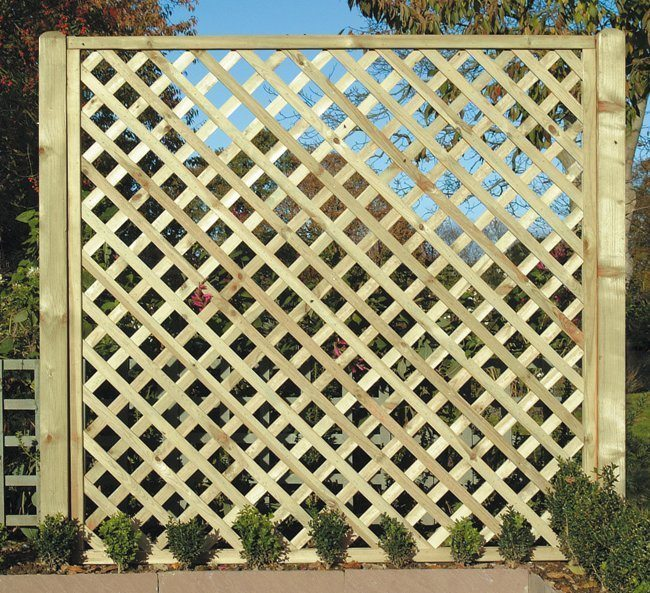 Diamond Lattice Panels | Square and Rectangular Lattice | Devon