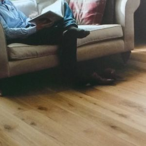 Lifestyle image of Elka Brushed and Oiled 14mm Engineered oak floorh
