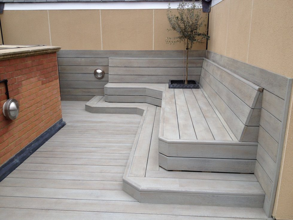 Millboard Enhanced Grain Decking Contemporary Style Devon