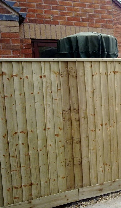 Featheredge Capping Garden Fencing Devon And Cornwall