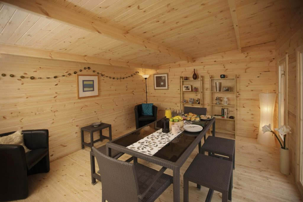 Forest Mendip Cabin Double Glazed Free Uk Mainland Delivery