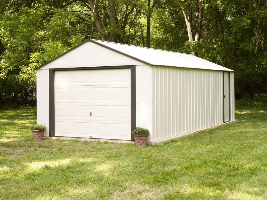 Rowlinsons Metal Garage 12 X 24 Free Uk Delivery