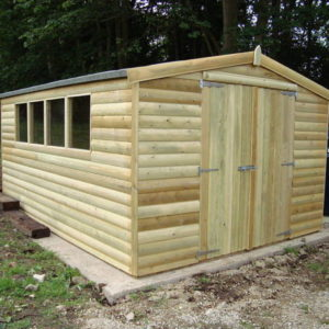 25mm loglap cladding