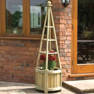 Marberry Obelisk Planter