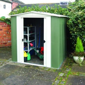 Metal Apex 6x5 Shed