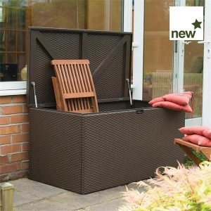 Metal Deck Box Brown