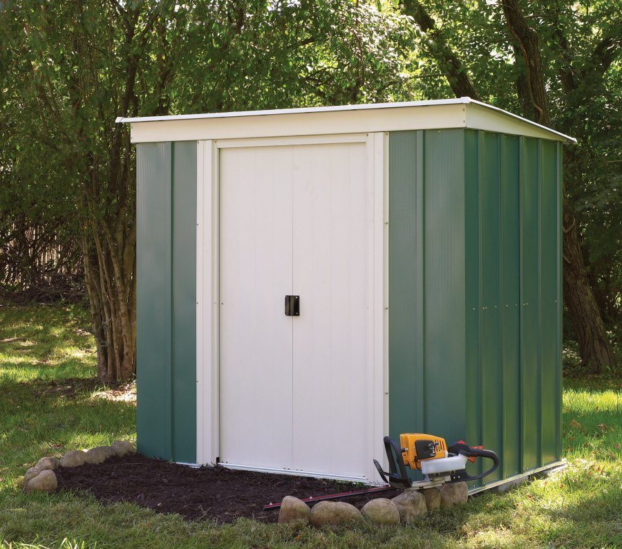 Metal pent 6x4 garden shed devon free uk mainland delivery for Garden shed 6 x 4