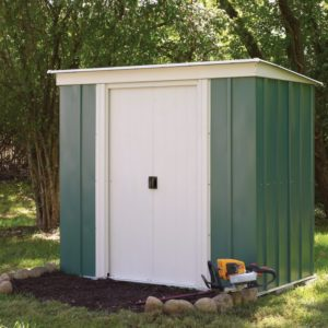 Metal Pent Shed 8 x 4