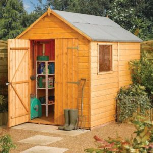Modular 8x6 Apex Shed from Rowlinson Garden Products