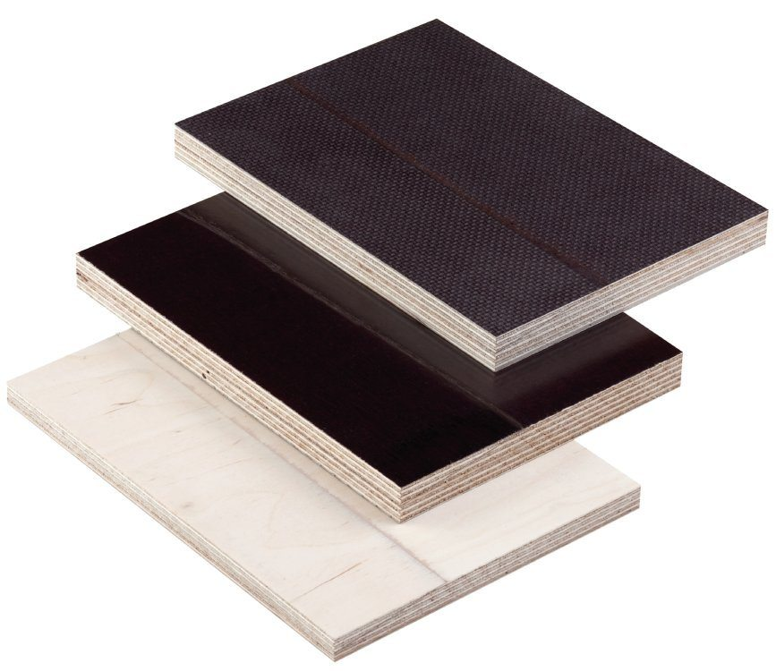 Phenolic Faced Birch Ply Smooth And Mesh Faced Phenolic