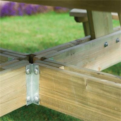Rowlinsons Round Picnic Table Garden, Rowlinson Round Picnic Table