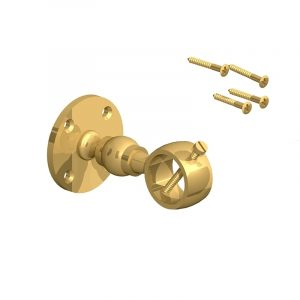Brass bracket for 26mm and 28mm rope