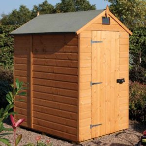 Security Shed Apex 6 x 4