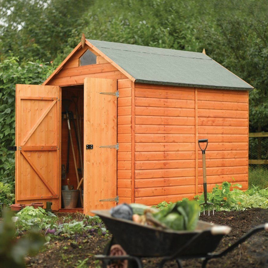 Security Shed Apex 8 x 6