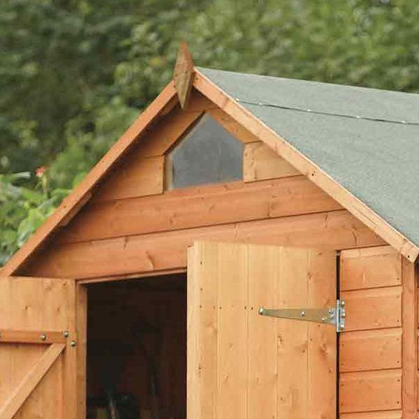 Security shed range devon garden sheds dipped timber for Garden shed security