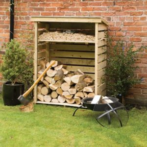 Small Log Store by Rowlinsons