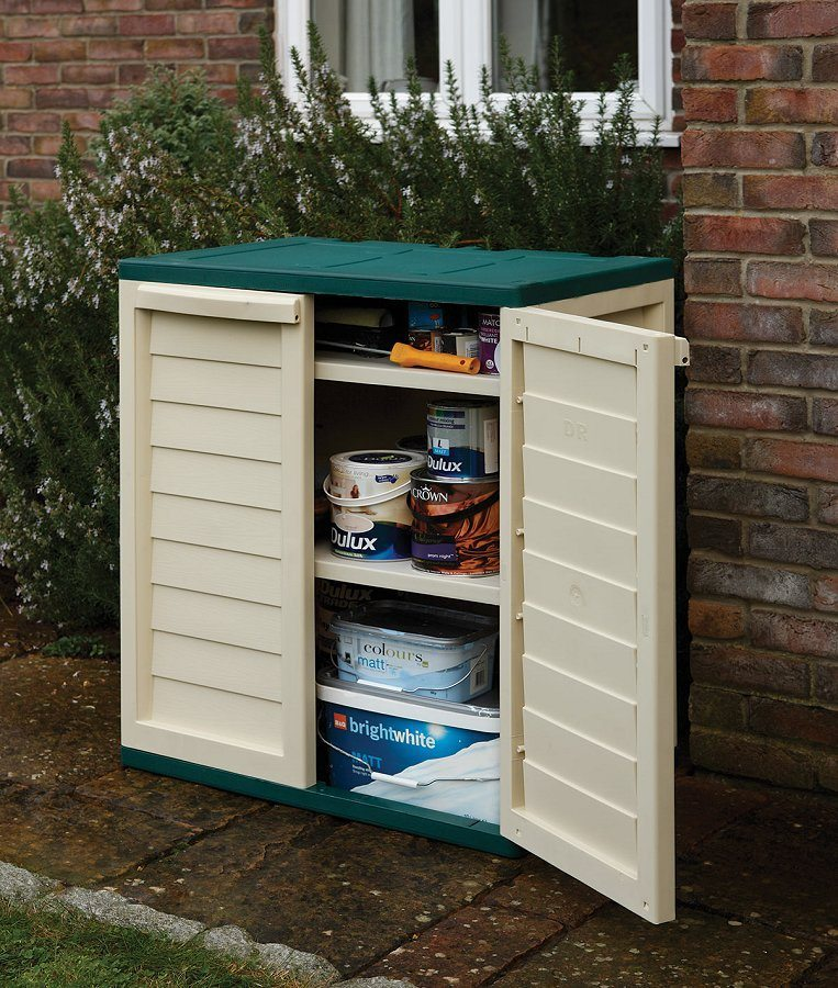 Plastic Utility Cabinet | Garden Storage | Free UK Delivery