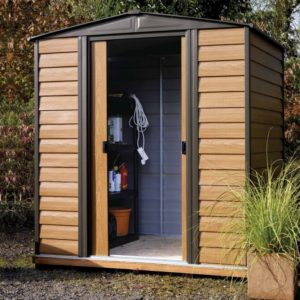Woodvale Metal Apex Shed 6 x 5