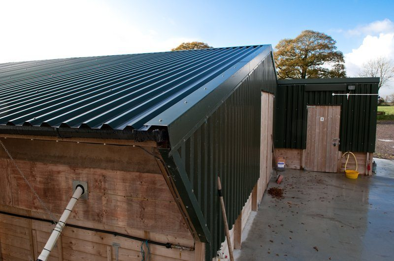 Box Profile Roofing Sheets Galvanised Steel Devon And