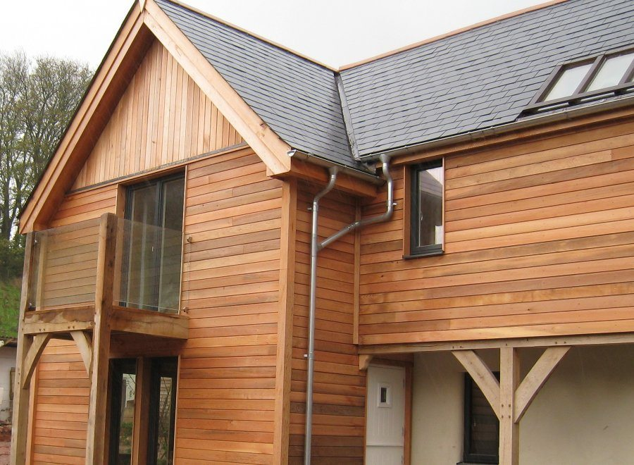 Wr Cedar Shadowgap Western Red Cedar Contemporary Cladding