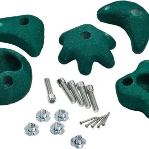 KBT Climbing Stones Pack of 5 Green