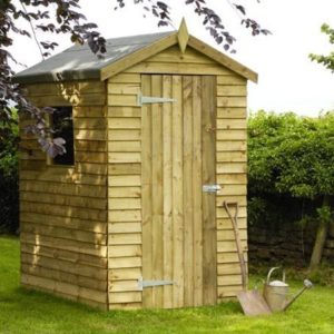 Apex Shed - Featheredge 6 x 4