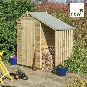 Oxford Shed 4 x 3 with lean to