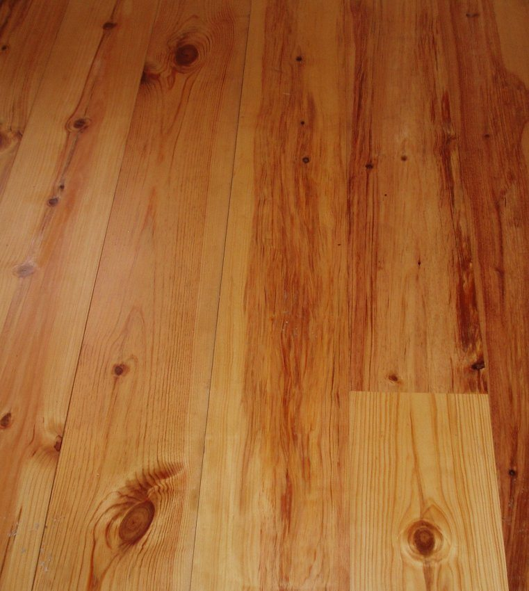 Pitch Pine Flooring T And G Pine Floors Square Edge
