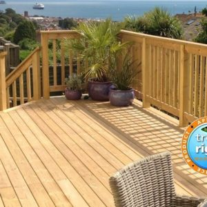 Smooth Decking 125mm