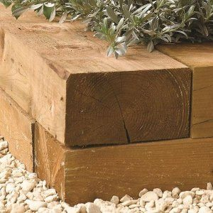 Rowlinsons Timber Sleepers 1800mm