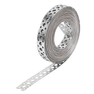 Metal Strapping Banding Flexible Bzp Pre Drilled