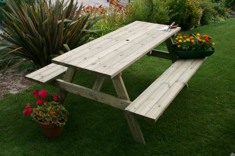 Wye Picnic Table from our Hutton Garden Furniture range
