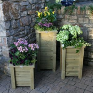 Huttons Box planters available in three different sizes