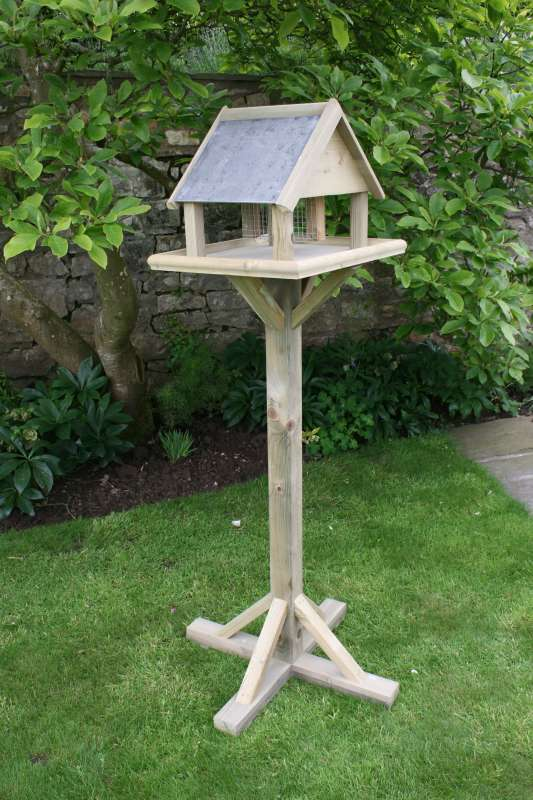Hutton Premium Bird Tables Tanalith Pressure Treated