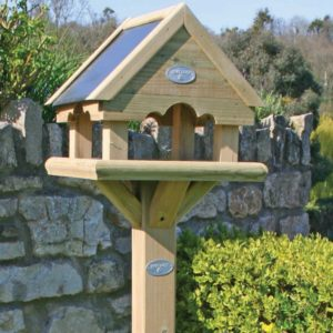Close up of Hutton bird house