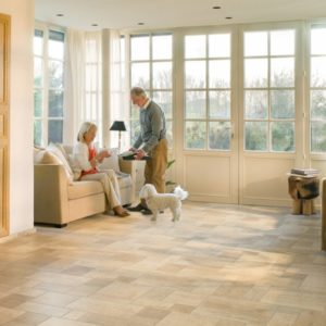 Ceramic Light laminate flooring from Quick-Step range