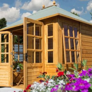 Clarendon Summerhouse from Rowlinsons Garden Products, aka Rowgar