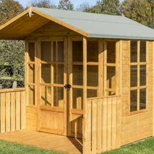 Rowlinsons garden buildins range includes this Arley 7x5 Summerhouse