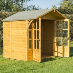 Eaton 7x5 Summerhouse from Rowlinsons Garden Products