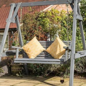 Palermo Swing Seat from the Rowlinson 2018 garden products range
