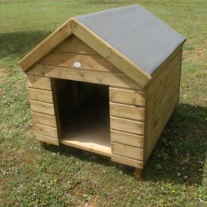 Tanalised dog kennel for the Hutton Animal Care range