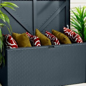 STylish appearance for the Metal Deck Box Anthracite